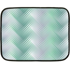 Background Bubblechema Perforation Double Sided Fleece Blanket (mini)