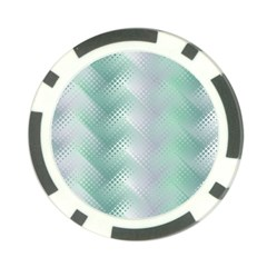 Background Bubblechema Perforation Poker Chip Card Guards (10 Pack)