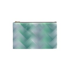 Background Bubblechema Perforation Cosmetic Bag (small)