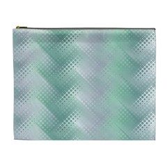 Background Bubblechema Perforation Cosmetic Bag (xl)