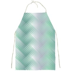 Background Bubblechema Perforation Full Print Aprons