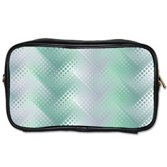 Background Bubblechema Perforation Toiletries Bags 2 Side