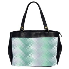 Background Bubblechema Perforation Office Handbags (2 Sides)