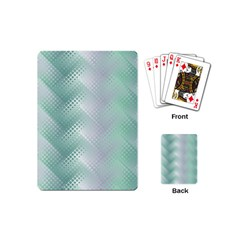 Background Bubblechema Perforation Playing Cards (mini)