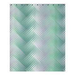Background Bubblechema Perforation Shower Curtain 60  X 72  (medium)