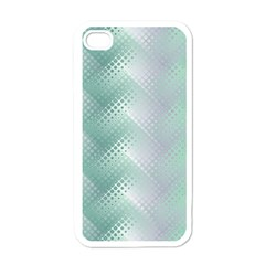 Background Bubblechema Perforation Apple Iphone 4 Case (white)
