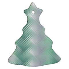 Background Bubblechema Perforation Ornament (christmas Tree)