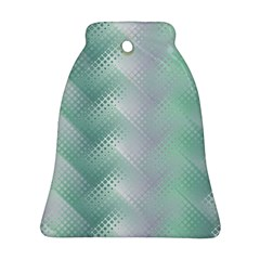 Background Bubblechema Perforation Bell Ornament (2 Sides)