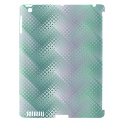 Background Bubblechema Perforation Apple Ipad 3/4 Hardshell Case (compatible With Smart Cover)