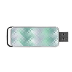 Background Bubblechema Perforation Portable Usb Flash (two Sides)