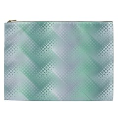 Background Bubblechema Perforation Cosmetic Bag (xxl)