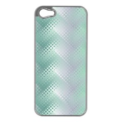 Background Bubblechema Perforation Apple Iphone 5 Case (silver)