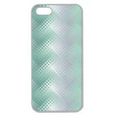 Background Bubblechema Perforation Apple Seamless Iphone 5 Case (clear)