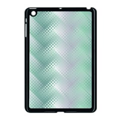 Background Bubblechema Perforation Apple Ipad Mini Case (black)