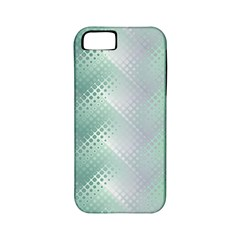 Background Bubblechema Perforation Apple Iphone 5 Classic Hardshell Case (pc+silicone)