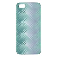 Background Bubblechema Perforation Apple Iphone 5 Premium Hardshell Case