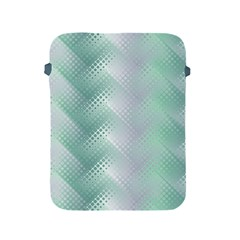 Background Bubblechema Perforation Apple Ipad 2/3/4 Protective Soft Cases