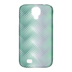 Background Bubblechema Perforation Samsung Galaxy S4 Classic Hardshell Case (pc+silicone)