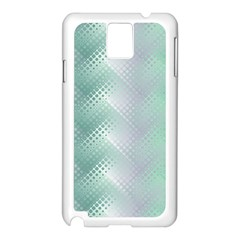 Background Bubblechema Perforation Samsung Galaxy Note 3 N9005 Case (white)