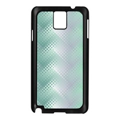 Background Bubblechema Perforation Samsung Galaxy Note 3 N9005 Case (black)