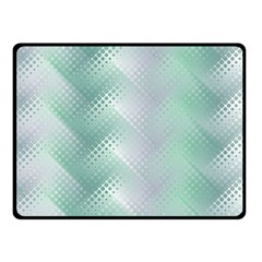 Background Bubblechema Perforation Double Sided Fleece Blanket (small)