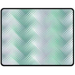 Background Bubblechema Perforation Double Sided Fleece Blanket (medium)