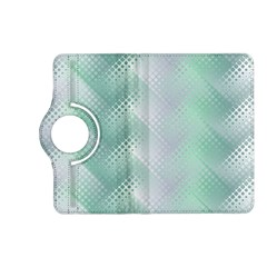 Background Bubblechema Perforation Kindle Fire Hd (2013) Flip 360 Case