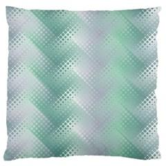Background Bubblechema Perforation Large Flano Cushion Case (one Side)