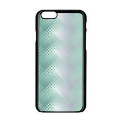 Background Bubblechema Perforation Apple Iphone 6/6s Black Enamel Case