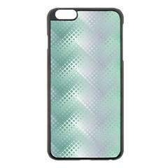Background Bubblechema Perforation Apple Iphone 6 Plus/6s Plus Black Enamel Case
