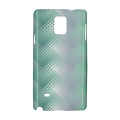 Background Bubblechema Perforation Samsung Galaxy Note 4 Hardshell Case