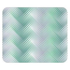 Background Bubblechema Perforation Double Sided Flano Blanket (small)