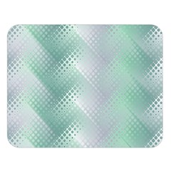 Background Bubblechema Perforation Double Sided Flano Blanket (large)