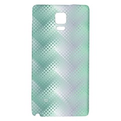 Background Bubblechema Perforation Galaxy Note 4 Back Case