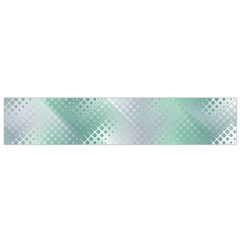 Background Bubblechema Perforation Flano Scarf (small)