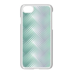 Background Bubblechema Perforation Apple Iphone 7 Seamless Case (white)