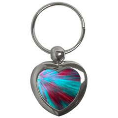 Background Texture Pattern Design Key Chains (heart)