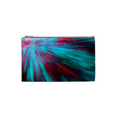 Background Texture Pattern Design Cosmetic Bag (small)