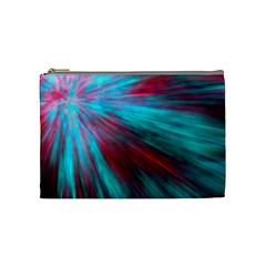 Background Texture Pattern Design Cosmetic Bag (medium)