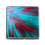 Background Texture Pattern Design Memory Card Reader (Square) Front