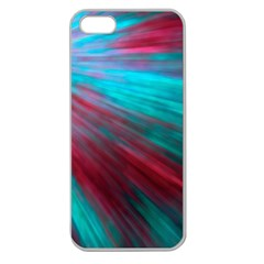 Background Texture Pattern Design Apple Seamless Iphone 5 Case (clear)