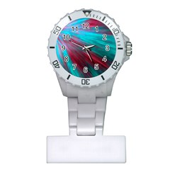 Background Texture Pattern Design Plastic Nurses Watch