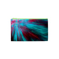 Background Texture Pattern Design Cosmetic Bag (xs)