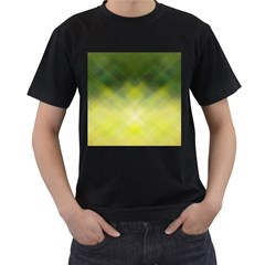 Background Textures Pattern Design Men s T Shirt (black) (two Sided)