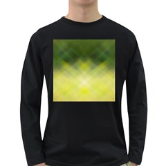 Background Textures Pattern Design Long Sleeve Dark T Shirts