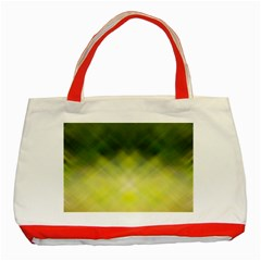 Background Textures Pattern Design Classic Tote Bag (red)