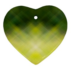 Background Textures Pattern Design Heart Ornament (2 Sides)