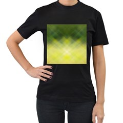 Background Textures Pattern Design Women s T Shirt (black)