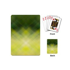 Background Textures Pattern Design Playing Cards (mini)