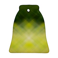 Background Textures Pattern Design Bell Ornament (2 Sides)